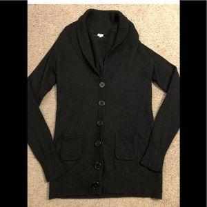 ⭐️J Crew⭐️ Alpaca black long sleeve sweater